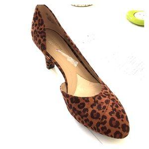 Naturalizer N5 Comfort Deva Cheetah Pumps Shoes 10